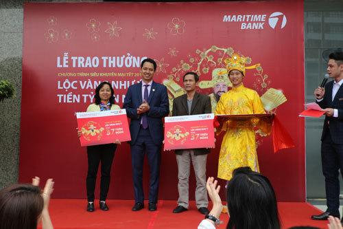Lộ diện khách hàng trúng thưởng 1 tỷ đồng từ Maritime Bank