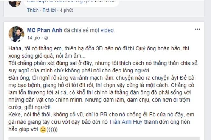 Quý ông hoàn hảo,Game show,MC Phan Anh