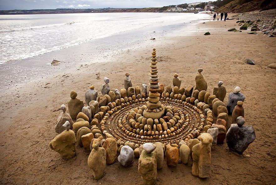 Chiêm ngưỡng tác phẩm từ đá cuội tuyệt đẹp