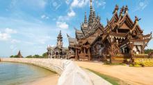 Sự thú vị của ngôi đền xây gần nửa thế kỷ mãi chưa xong
