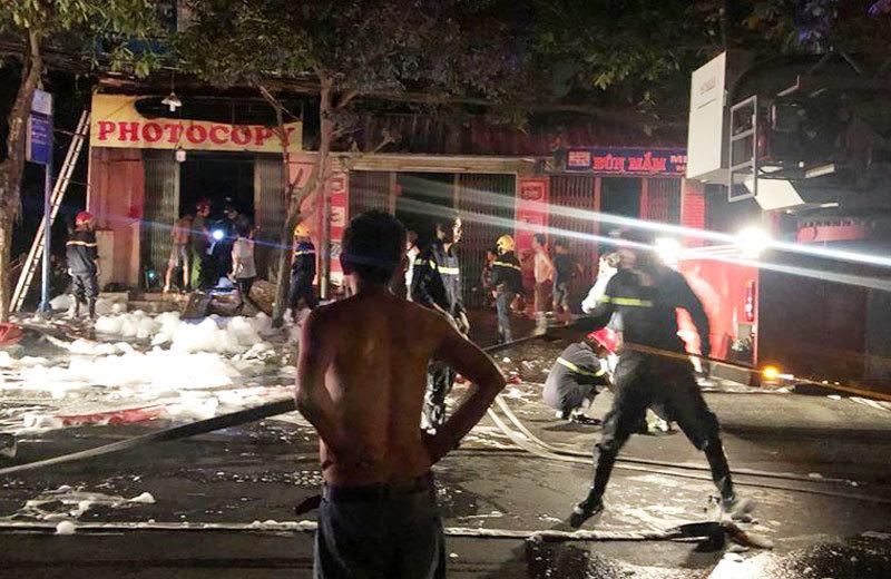 Tin mới vụ cháy tiệm photocopy 3 người thương vong ở Sài Gòn