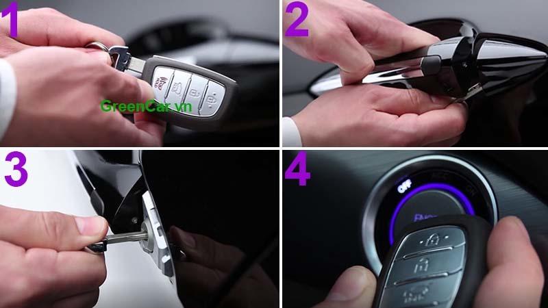Chìa khóa thông minh ô tô hết pin, phải làm sao?