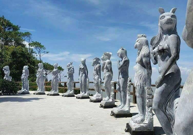 Các họa sĩ lên tiếng về tượng 12 con giáp khỏa thân