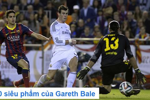 Những pha ghi bàn của Bale cho Real
