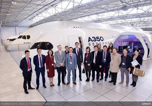 FLC và Airbus ký hợp đồng thoả thuận mua 24 máy bay