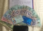Nhân viên tàu '5 sao' liên tục nhặt được tiền và trả lại cho khách