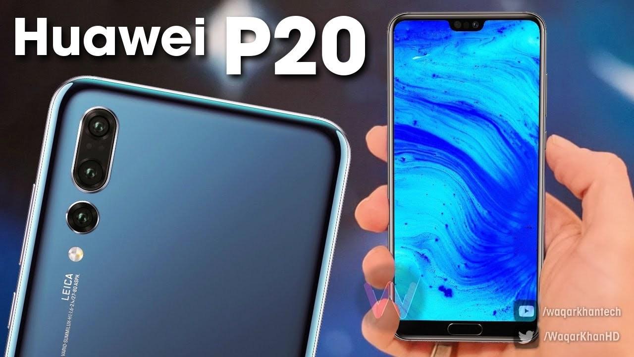 Huawei P20 Pro tai thỏ có camera PureView, độ phân giải 40 Mpx