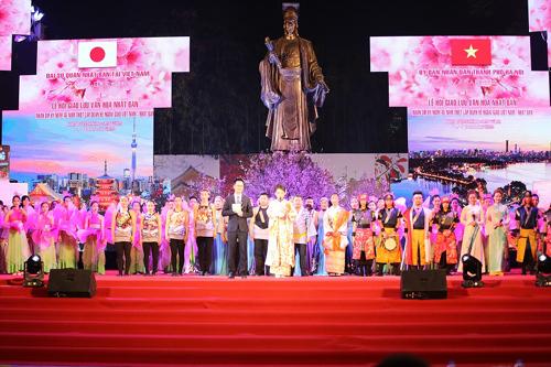 Độc đáo Lễ hội giao lưu văn hóa Nhật Bản 2018