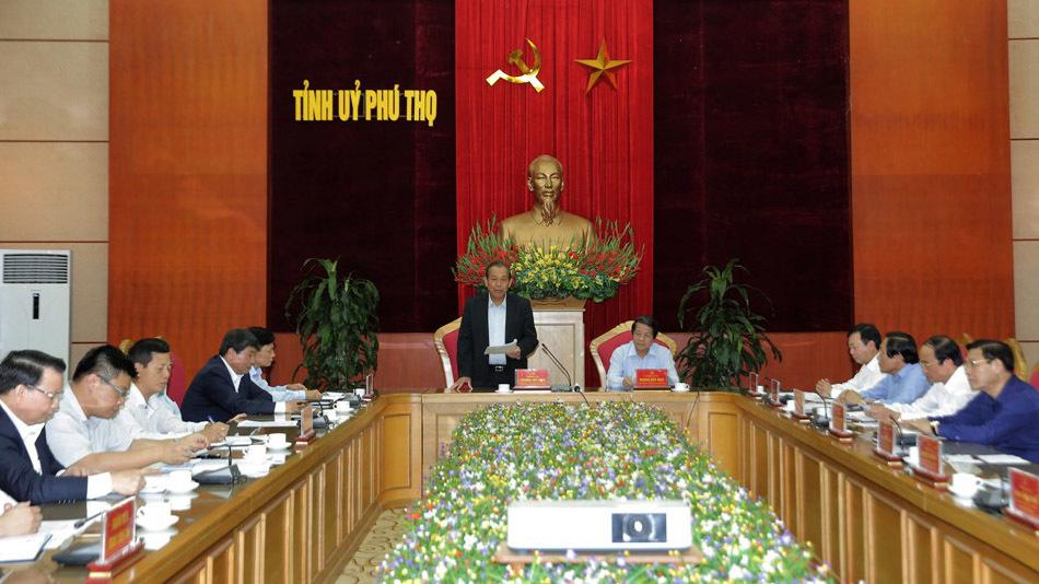 Kiểm tra, giám sát công tác phòng chống tham nhũng tại Phú Thọ