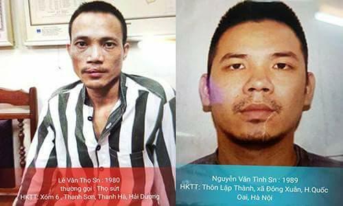 2 tử tù trốn trại: Đề nghị truy tố người tình Thọ 'sứt' và 3 người khác