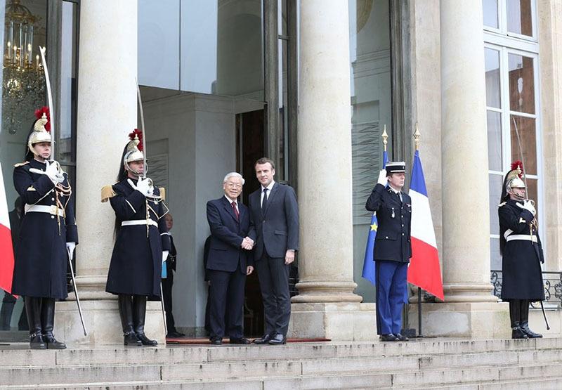 Tổng bí thư kết thúc tốt đẹp chuyến thăm CH Pháp và CH Cuba