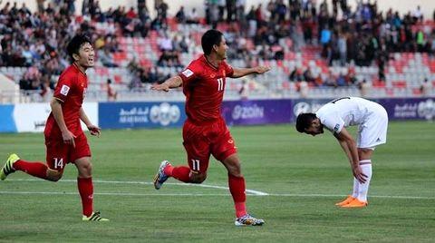 Jordan 0-1 Việt Nam: Anh Đức mở tỷ số