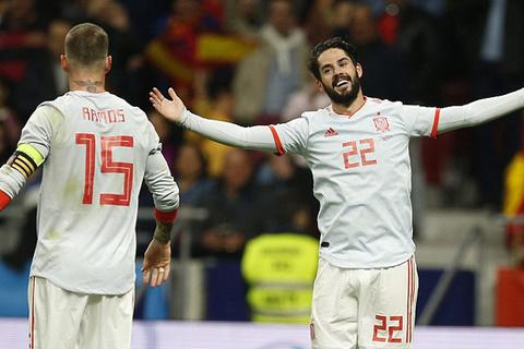 Video Tây Ban Nha 6-1 Argentina