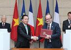 Tổng Bí thư Nguyễn Phú Trọng và Tổng thống Emmanuel Macron gặp báo chí