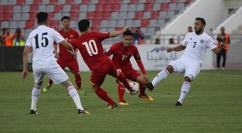 Việt Nam 1-1 Jordan