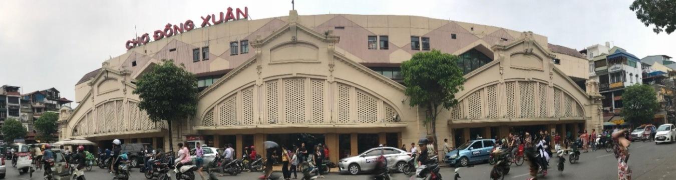Chuyên gia hiến kế xây chợ Đồng Xuân 4 tầng nổi, 5 tầng hầm