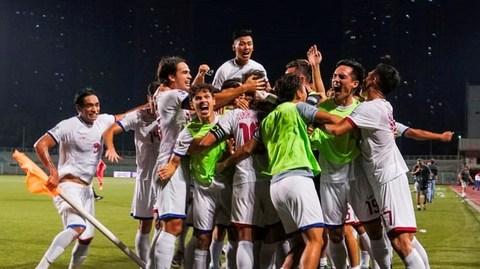Philippines 2-1 Tajikistan