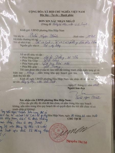 Đà Nẵng: Cán bộ tư pháp giả chữ ký của Chủ tịch phường