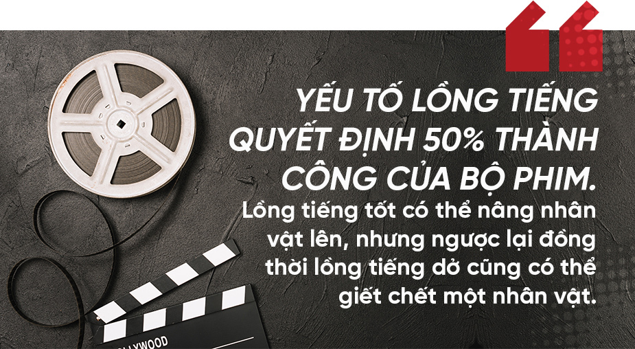 Gặp 'phù thủy lồng tiếng' chuyên trị vai ác trong phim TVB
