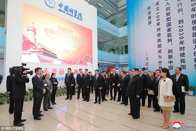 Hình ảnh đặc biệt về chuyến thăm Trung Quốc của Kim Jong Un