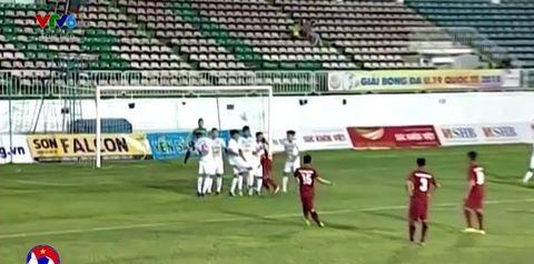 U19 Việt Nam 1-0 U19 HAGL: Tuyệt phẩm sút phạt của Hồng Sơn