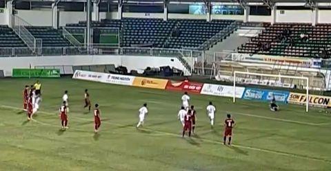 U19 Việt Nam 1-1 U19 HAGL: Bàn gỡ trên chấm 11m