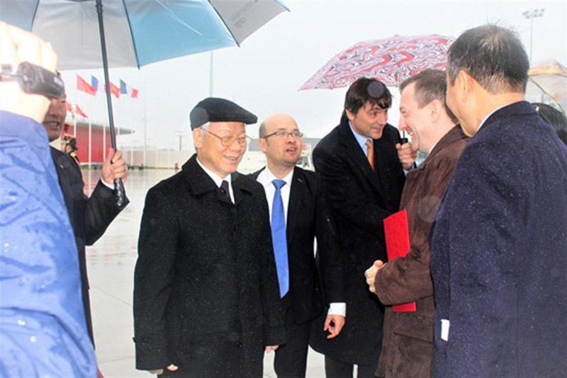 Tổng bí thư lên đường thăm cấp Nhà nước Cộng hòa Cuba