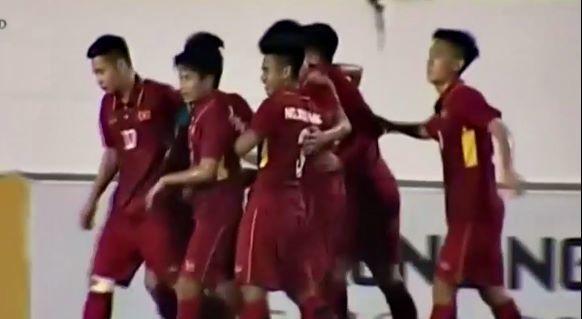 U19 Việt Nam 2-1 U19 HAGL: Việt Anh tái lập thế dẫn trước