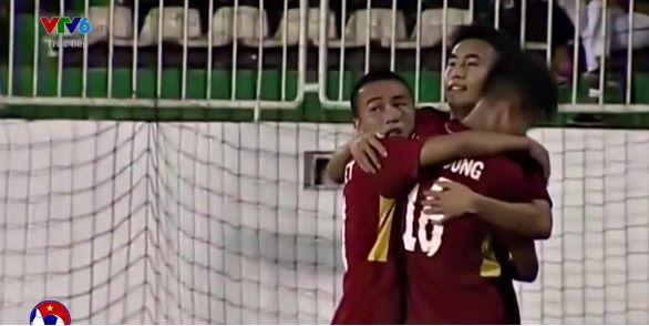 U19 Việt Nam 3-1 U19 HAGL: Văn Công ghi bàn