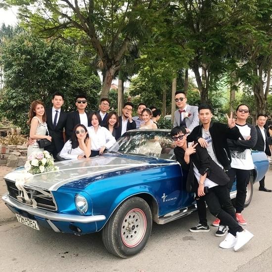 Dàn hotgirl Việt 'đại náo' đám cưới Justatee và Trâm Anh