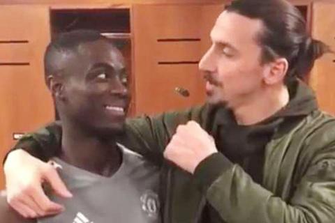 Video Ibrahimovic chào tạm biệt MU