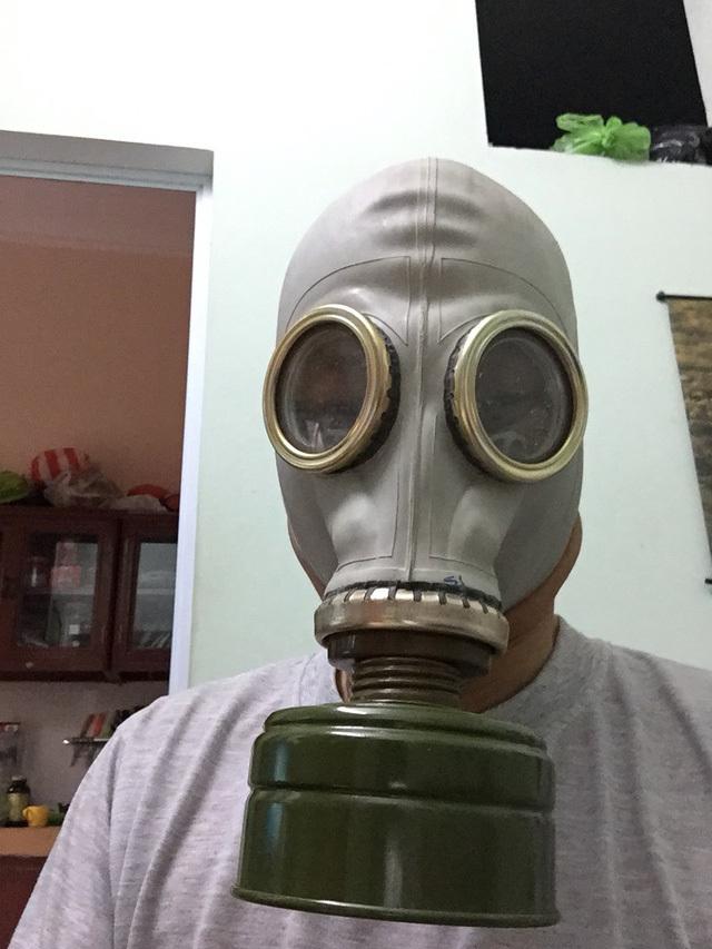 Sau thảm hoạ cháy chung cư, nhiều người 'đi săn' mặt nạ phòng độc của Nga