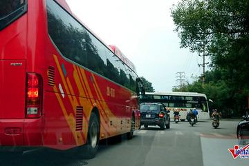 Hà Nội 'nắn' lộ trình, 400 lượt xe khách hết cửa vào trung tâm