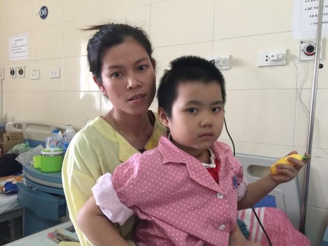 hoàn cảnh khó khăn,ung thư,ung thư ở trẻ em,u màng não,bệnh hiểm nghèo,từ thiện vietnamnet