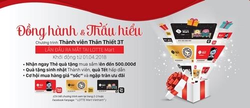 LOTTE Mart ra mắt thẻ 3T gia tăng lợi ích khách hàng