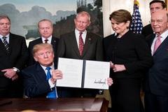 Đứng trên đỉnh cao 10 năm, lo Donald Trump tung đòn hiểm