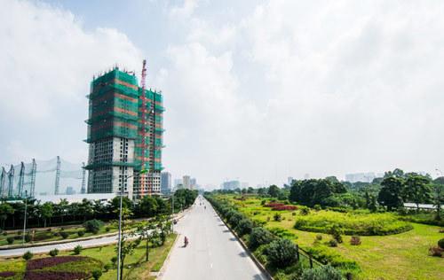 Khách 'ngoại' chuộng thuê chung cư Tây Hà Nội