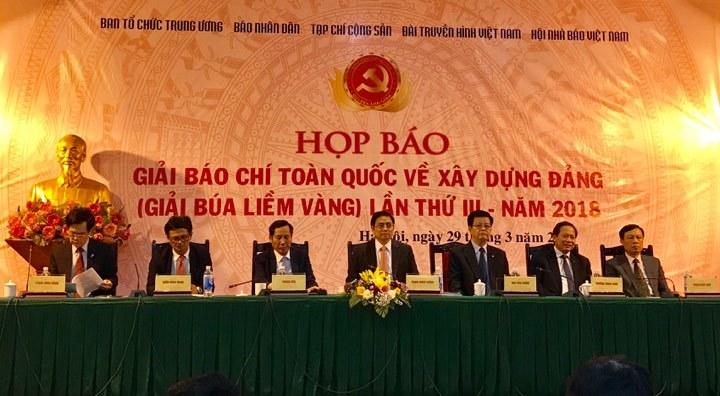Trưởng Ban tổ chức TƯ: Mong báo chí đồng hành xây dựng Đảng trong sạch
