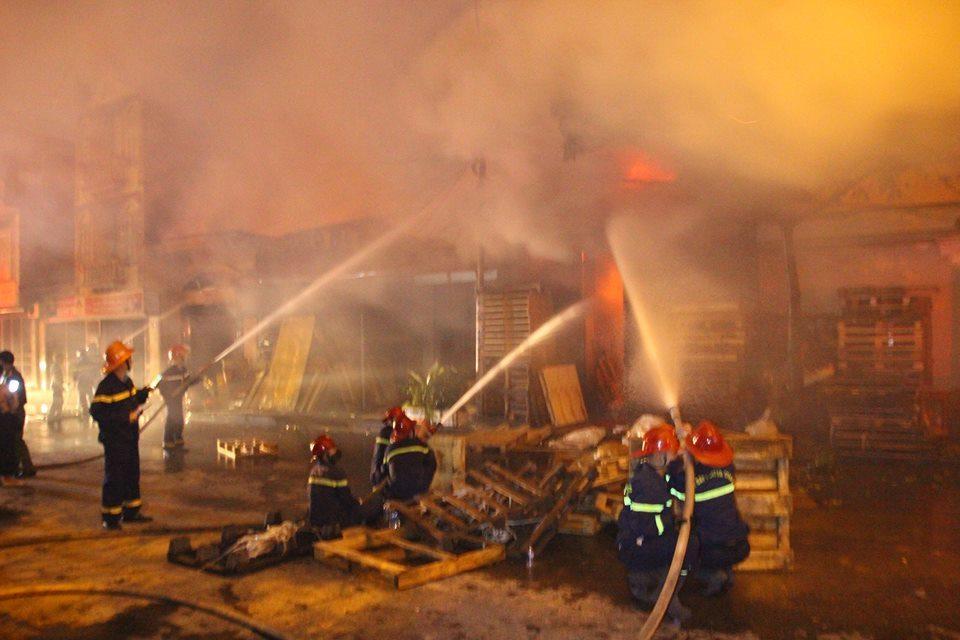 cháy lớn,cháy ở Hải Phòng