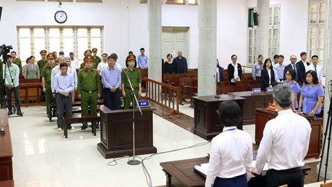 Đinh La Thăng,PVN,Oceanbank,Hà Văn Thắm,Nguyễn Xuân Sơn,Ninh Văn Quỳnh,Tham ô,tham nhũng