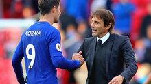 Conte thách Morata: Khỏe rồi, hãy sút tung lưới Tottenham!