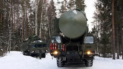 Lực lượng Tên lửa Nga tập trận