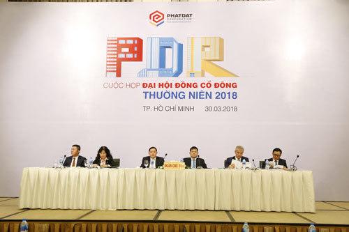 2017, Phát Đạt thu 551 tỷ đồng lợi nhuận trước thuế