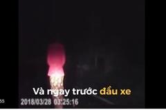 Cô gái xuất hiện bí ẩn bên đường lúc nửa khuya khiến tài xế 'hú hồn'