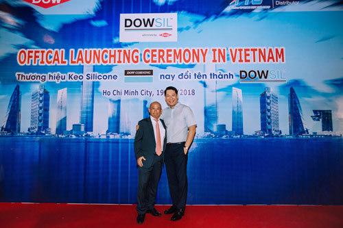 Thương hiệu keo silicone Dow Corning đổi tên thành Dowsil
