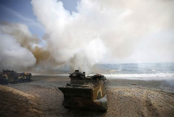 Ngày này năm xưa: Hàn - Triều đấu pháo dữ dội