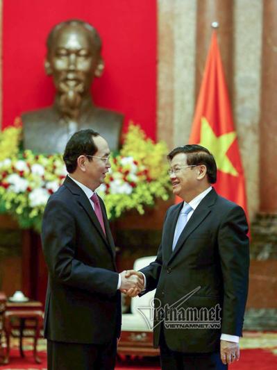 Chủ tịch nước,Chủ tịch nước Trần Đại Quang,Lào,Thủ tướng Lào,Mekong