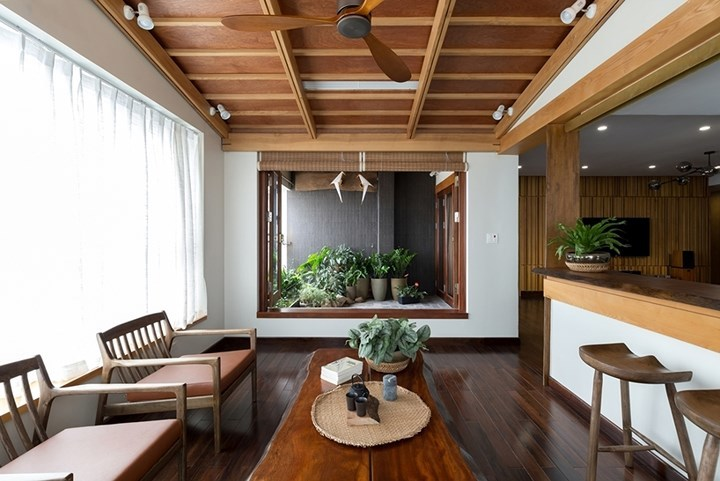 Căn hộ tầng 12 ở Hà Nội đẹp như trong tranh