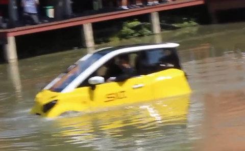 Ô tô điện lội nước 400 triệu: Dân Hà Nội - Sài Gòn quá ưng