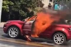 Thất tình, trai trẻ thiêu chết bạn gái cũ trong xe hơi
